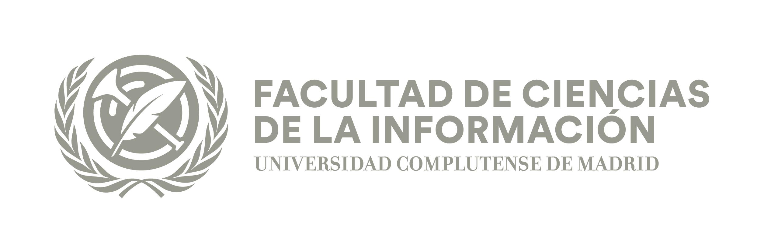 Logo Horizontal Facultad Ciencias de la Información Logotipo
